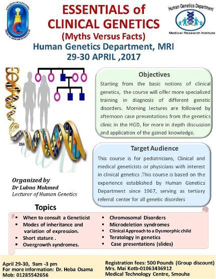 Essentials of clinical genetics