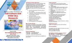 Cell Culture and Stem Cell Research Workshop