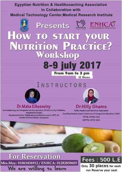 How to start your Nutrition Practice